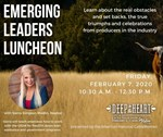 Emerging Leaders Luncheon