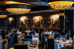 Morton's steakhouse dining room